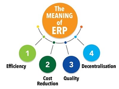 meaning of ERP in a tree chart