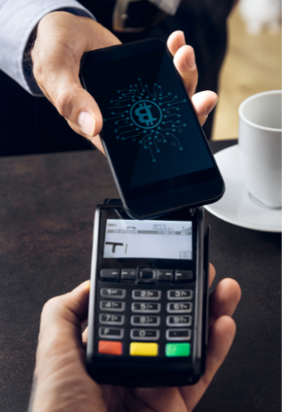 merchant accepting bitcoin with payment processor