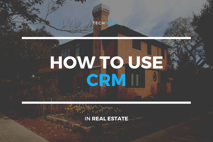 Cover of How to use crm in real estate