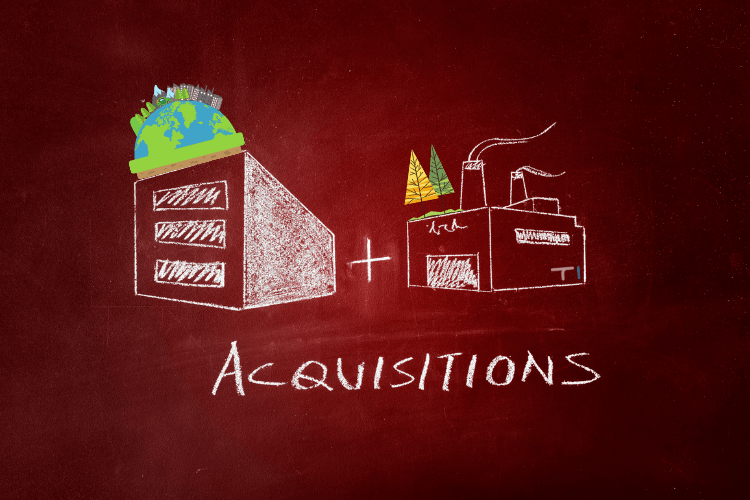 Acquisition in the payment ecosystem illustration