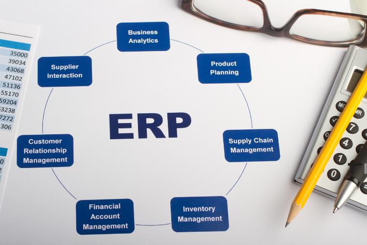 types of softwares in erp written
