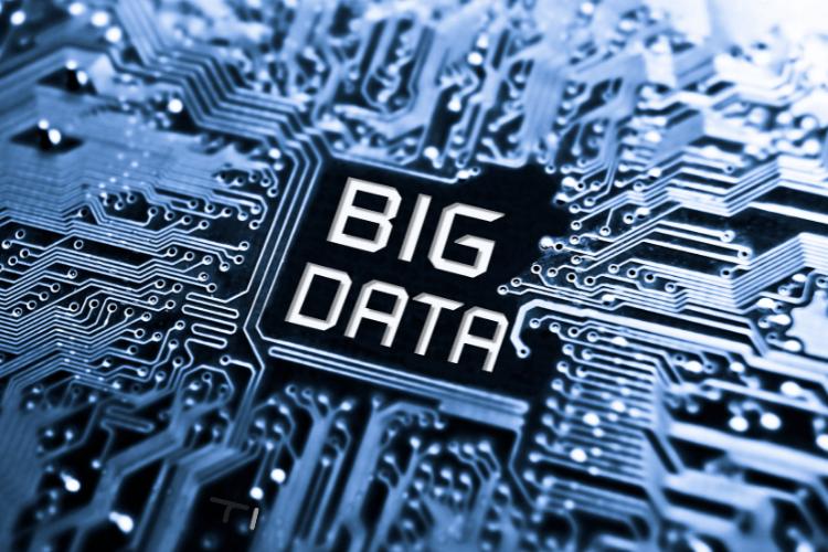big data written on chip